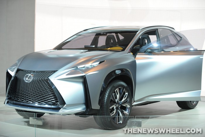 Lexus NAIAS Display: LF-NX Concept