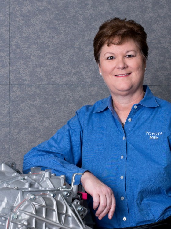 Toyota Executives Earn Women In Manufacturing Step Awards