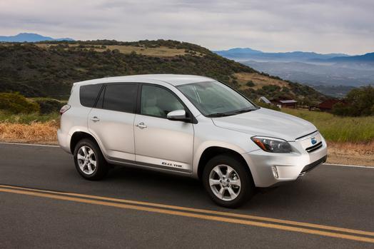 Toyota RAV4 EV recall
