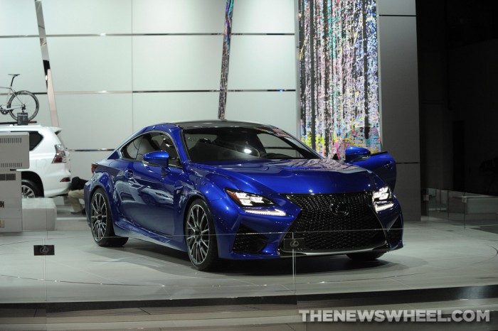 Lexus NAIAS Display: RC F