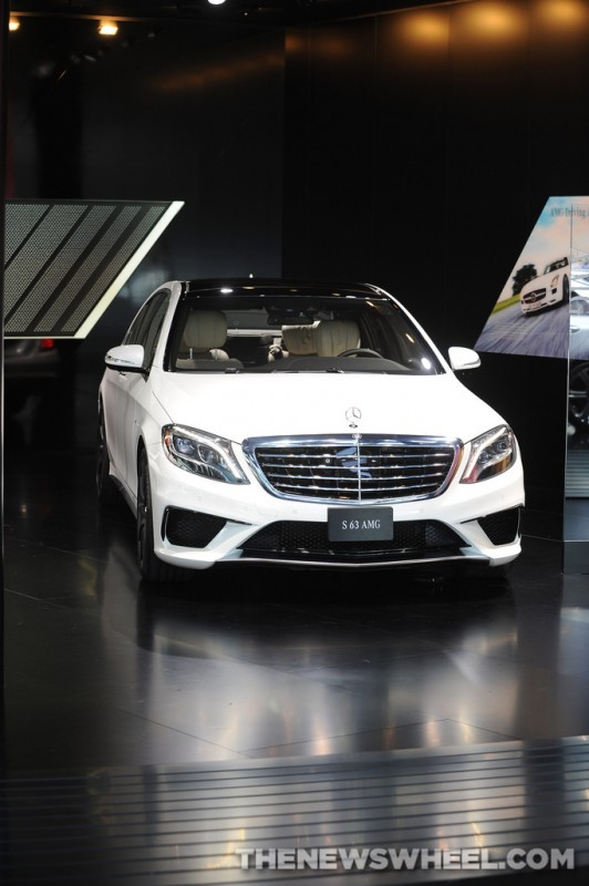 Mercedes-Benz NAIAS display: S 63 AMG