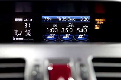 Subaru XV Crosstrek dash
