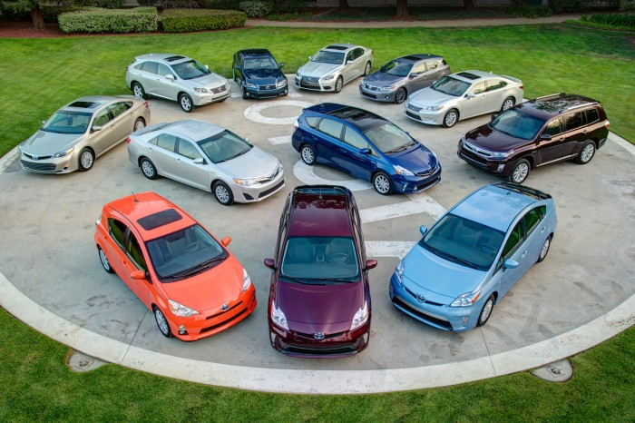 Toyota Climbs to More than 6 Million Global Hybrid Sales for 2013