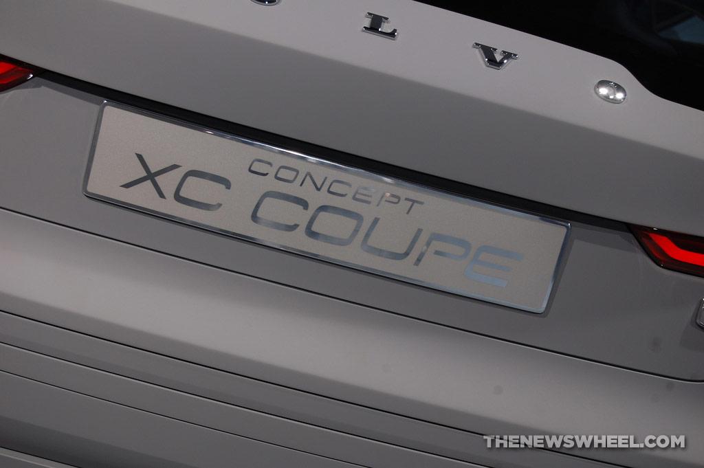 Volvo NAIAS display: XC Coupe