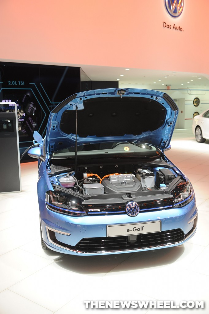Volkswagen NAIAS Display: e-Golf