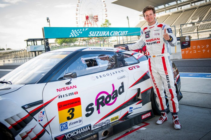 Nissan GT Academy winner Lucas Ordonez