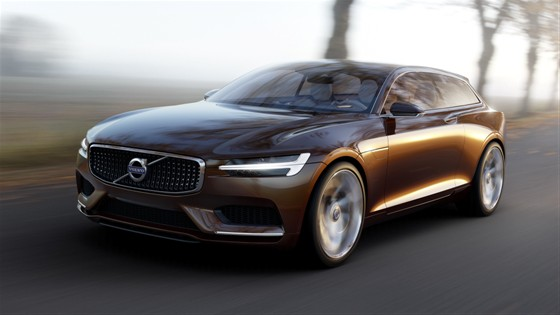 Volvo Concept Estate production