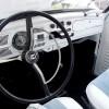 Interior of 1960 VW Beetle