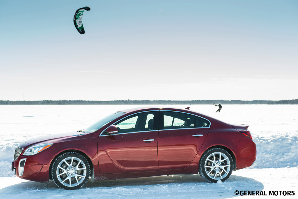 2014 Regal's All-Weather All-Wheel-Drive