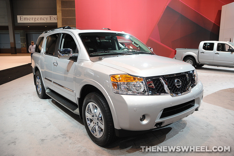 2014 Nissan Armada grille