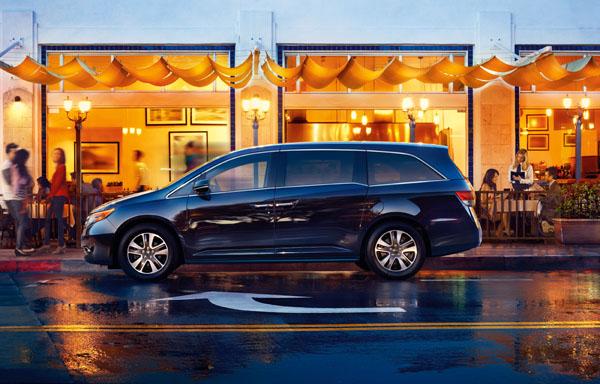 2014 Honda Odyssey recall