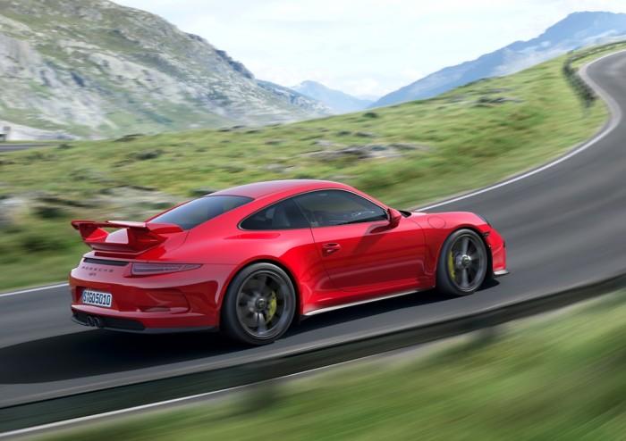 2014 Porsche 911 GT3 engines