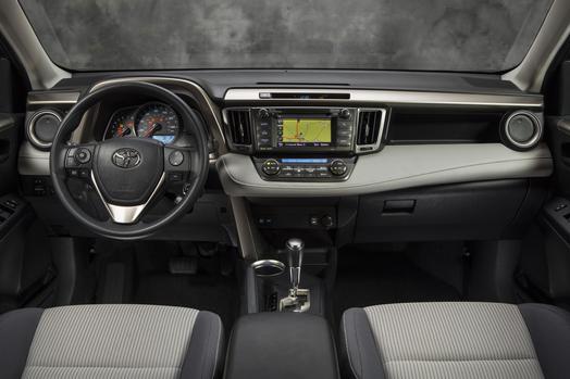 2014 Rav4 interior