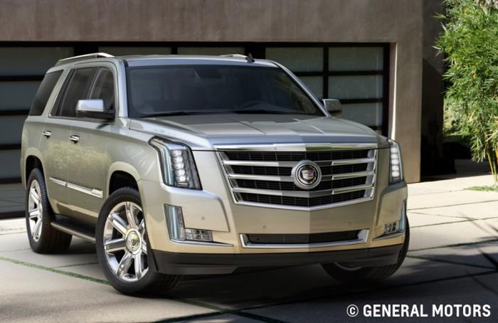 2015 Cadillac Escalade exterior lighting