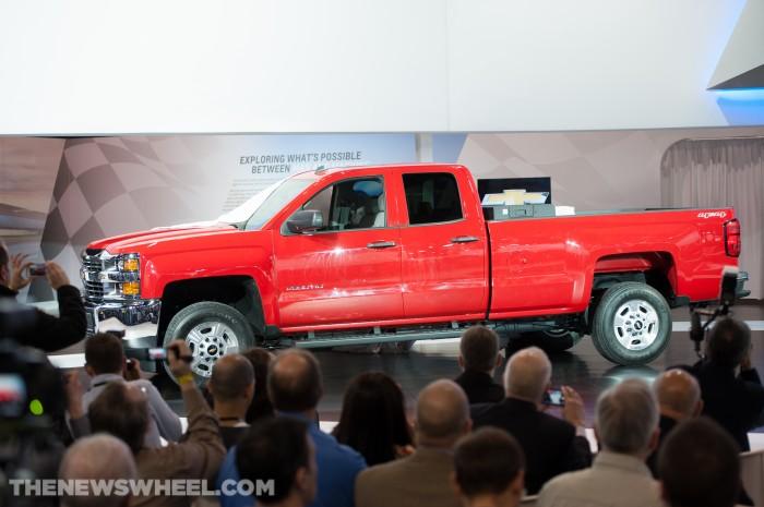 2015 Silverado HDs Unveiled at Chicago Auto Show