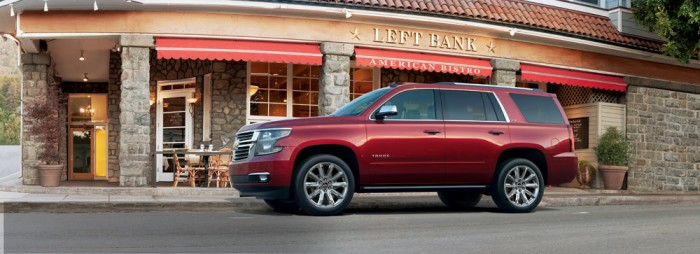 2015 Chevrolet and GMC Full-Size SUVs