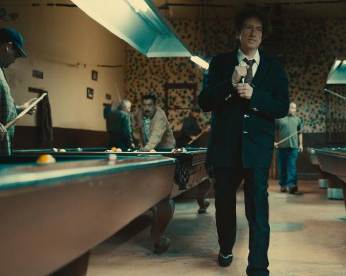 Bob Dylan strolls through a pool hall in last year's Fiat Chrysler Super Bowl ad