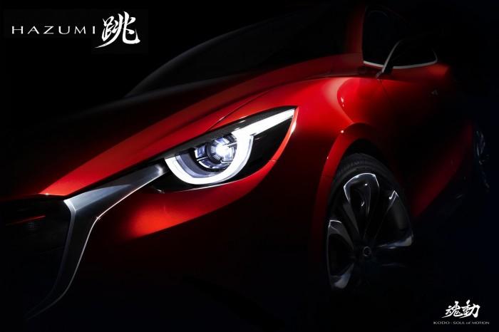 Mazda HAZUMI Concept Teaser