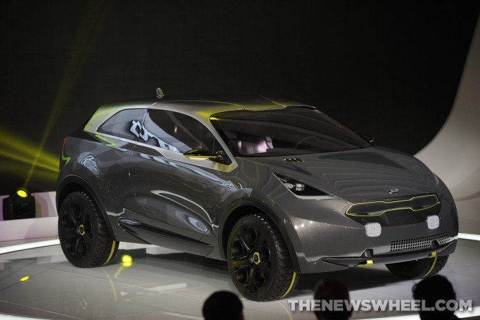 2012 Kia Niro Concept, the inspiration for the upcoming Kia hybrid crossover