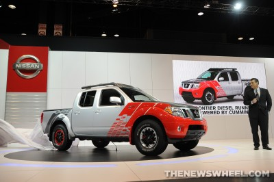 Fred Diaz and the Nissan Frontier Diesel Runner Concept