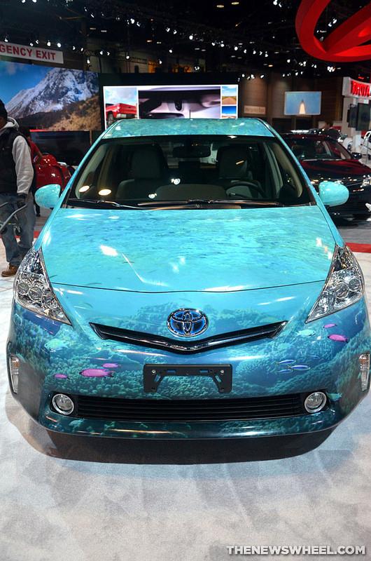 Shedd Aquarium Prius V Front