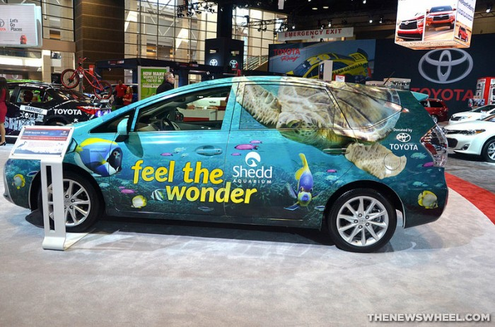 Shedd Aquarium hybrid Prius V