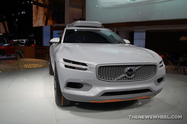 Volvo Concept XC Coupe Front View