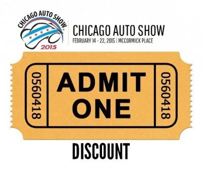 Chicago Auto Show Ticket Discounts