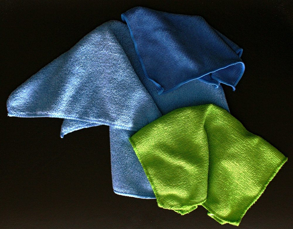 microfiber towel cleaning cloth