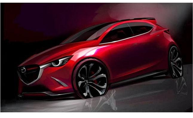 Mazda HAZUMI Concept Sketch
