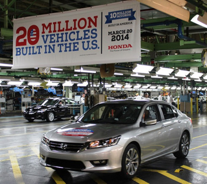 10 millionth Honda