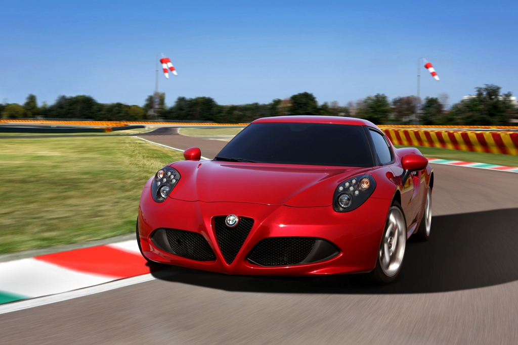 2015 Alfa Romeo 4C Coupe: Best Value | 2015 Chrysler 300: Car of Texas