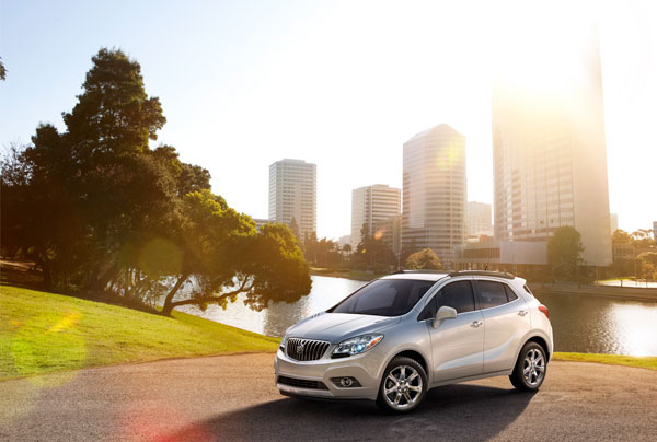 2014 Buick Encore's first year of sales