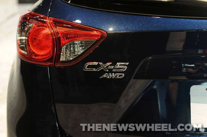 2014 Maxda CX-5 badge