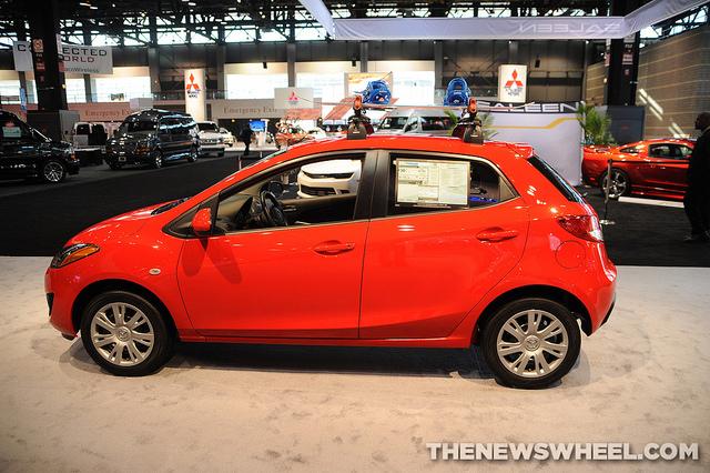 Mazda US sales in April