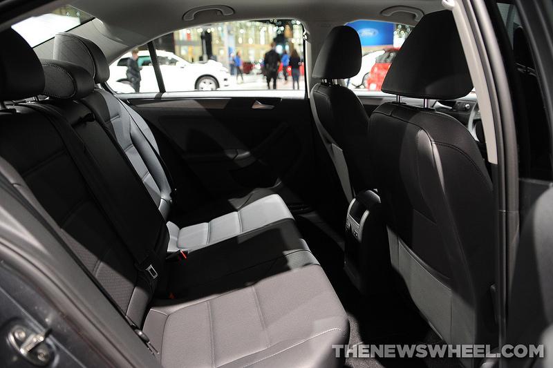 2014 Volkswagen Jetta TDI Overview: Backseats