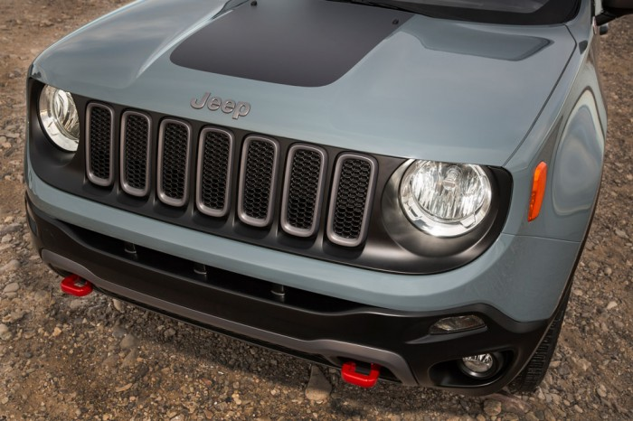 2015 Jeep Renegade Trailhawk | Trackhawk Trademark