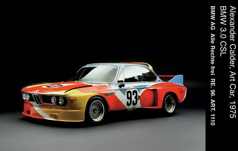 Alexander Calder BMW Art Car