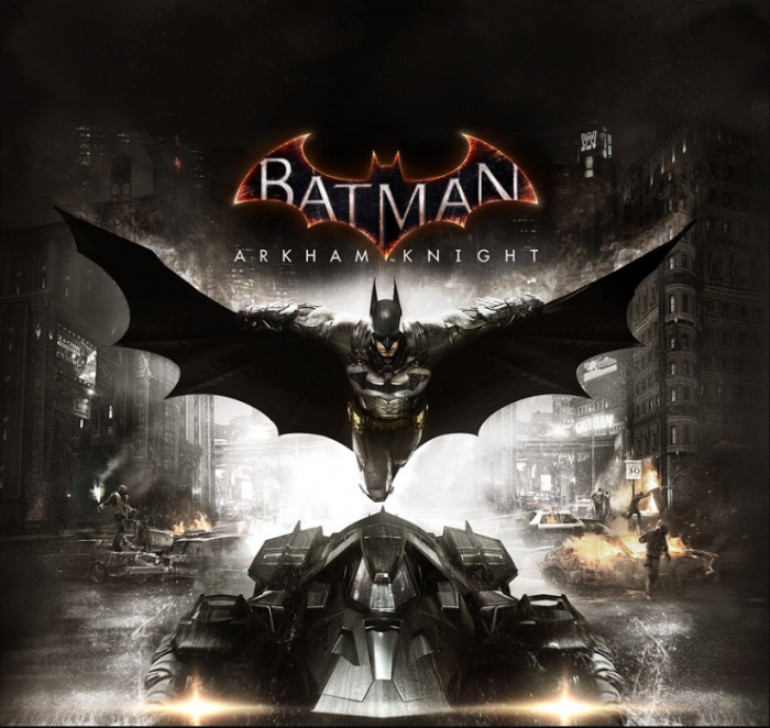 Driveable Batmobile in Arkham Knight