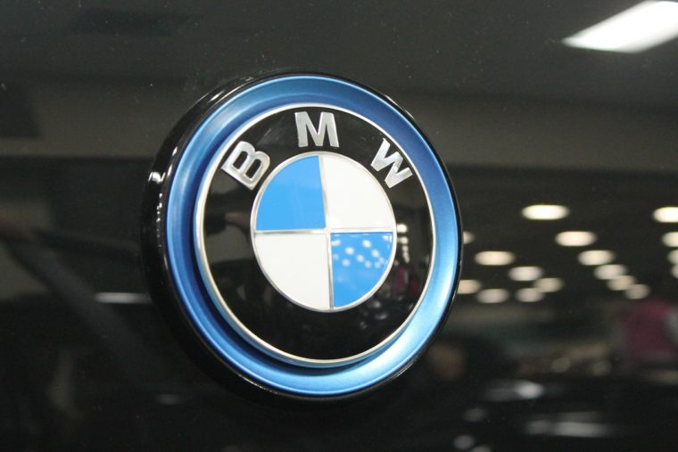 BMW i3 badge