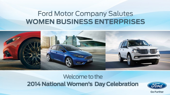 Ford Motor Company Salutes Women Business Enterprises
