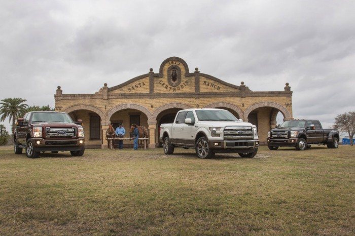 Ford and King Ranch Partnership