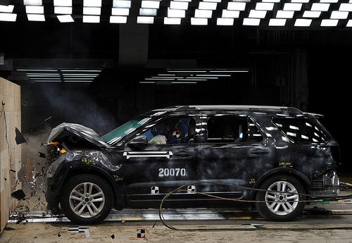 Ford virtual crash tests