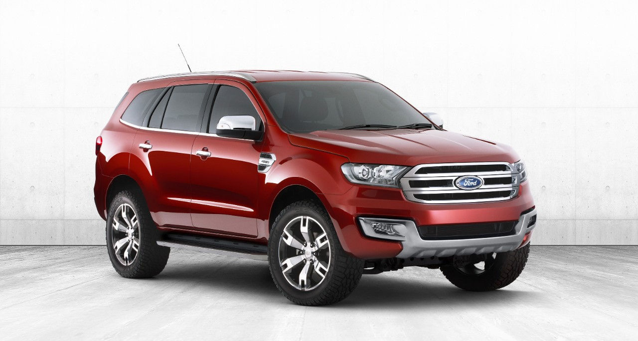 Ford Everest Concept Front View