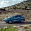 Light Blue Porsche Cayenne