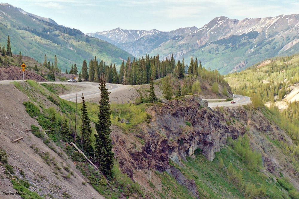 Million Dollar Highway Colorado - Red Mountain Pass