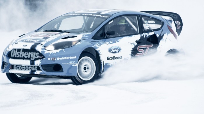 OMSE drivers Andreas Bakkerud and Patrik Sandell recently tested out a RC-spec Ford Fiesta ST in Kall, Sweden