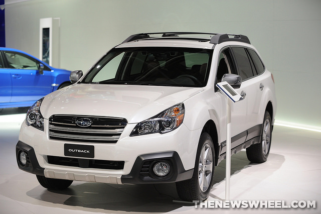 Subaru's April 2014 sales