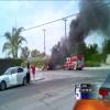 GMC Yukon Catches Fire