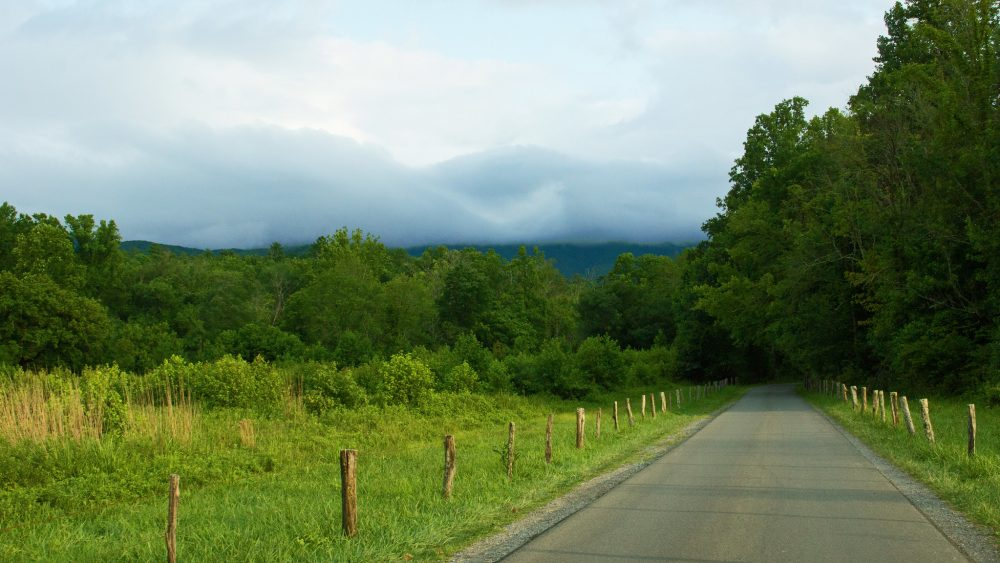 View from Cades Cove Loop Road, Great Smoky Mountains National Park